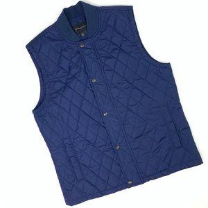 Banana Republic Navy Blue Vest Jacket. NWOT.